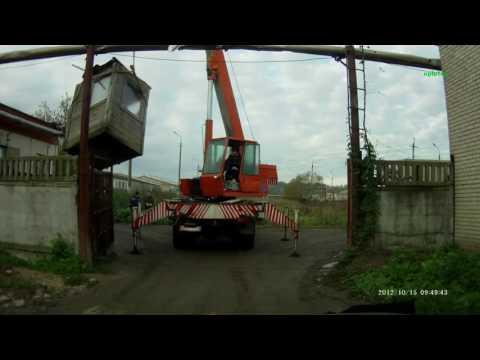 видео: Трагические ошибки крановщиков