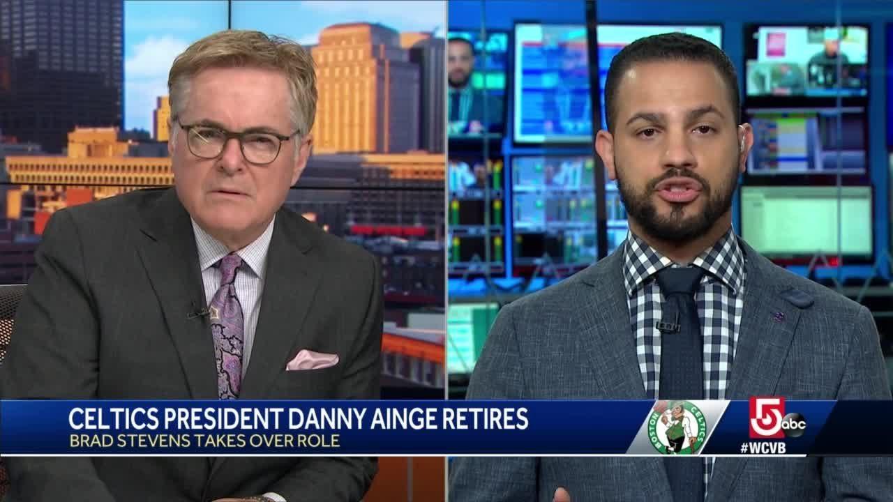 Celtics Danny Ainge announces retirement; Brad Stevens promoted ...