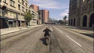 double bump Stunt! (GTA 5)