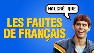 Top 8 des fautes de français qui arrachent l'oreille