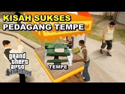 KISAH SUKSES PEDAGANG TEMPE - GTA Lucu Indonesia Dyom