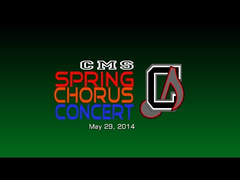 Chickahominy Middle School 2014 Spring Chorus Concert - Preview