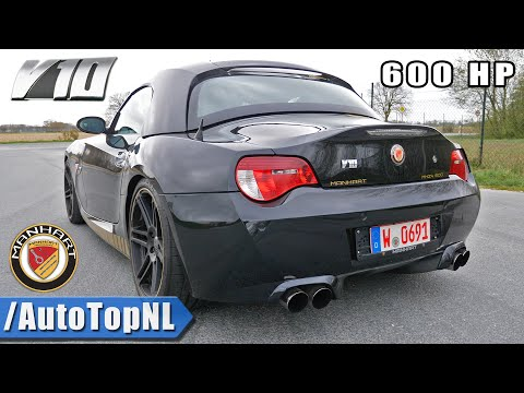 BMW Z4 5.8 V10 MANHART *M5 ENGINE SWAP* SOUND & ONBOARD by AutoTopNL
