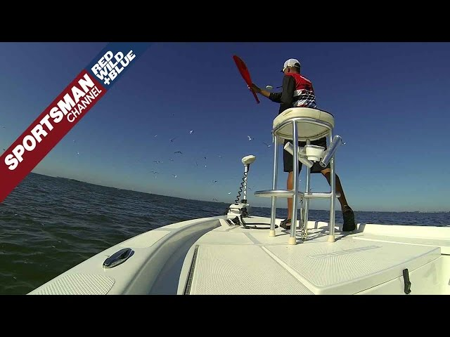 Why to use a Chum Bat when Chumming for Redfish