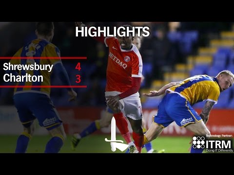 HIGHLIGHTS | Shrewsbury 4  Charlton 3
