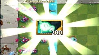 Plants vs Zombies 2 Mod Peashooter Electrico en Accion Nivel 1