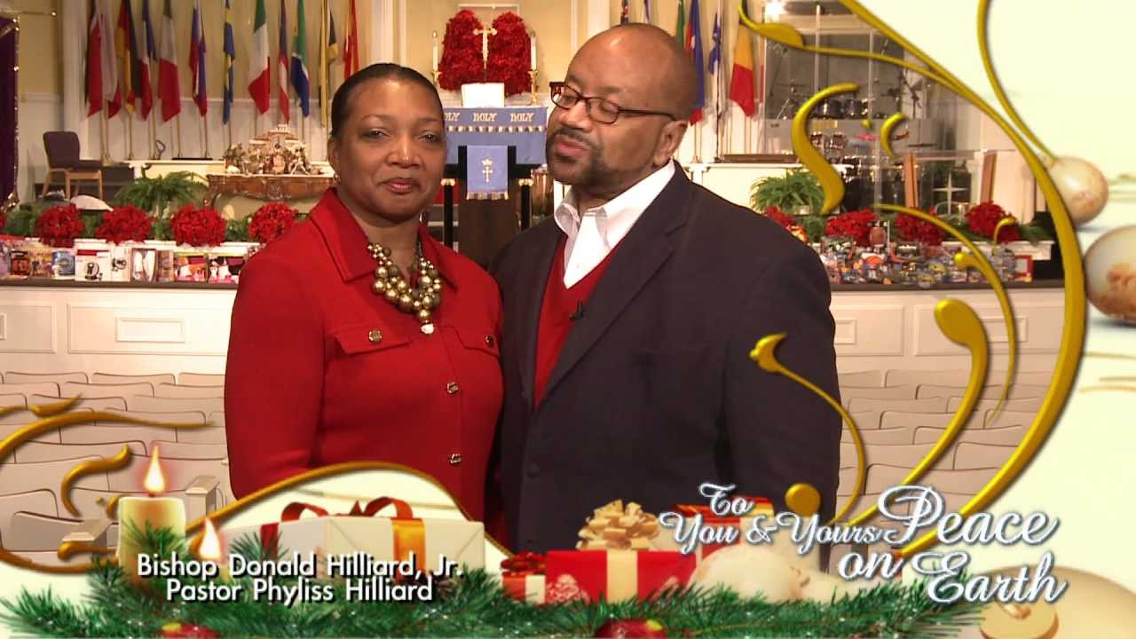 Bishop donald pastor phyliss hilliard e holiday christmas greeting bishop donald pastor phyliss hilliard e holiday christmas greeting 2011 m4hsunfo Image collections