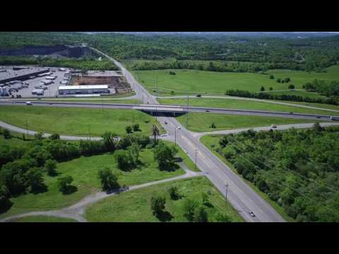 Whites Creek/Briley Parkway Land Drone Flyover Video
