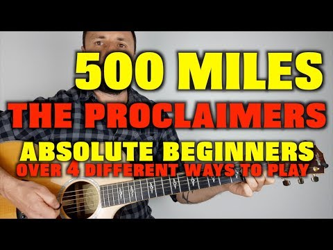 500 miles easy guitar lesson The Proclaimers