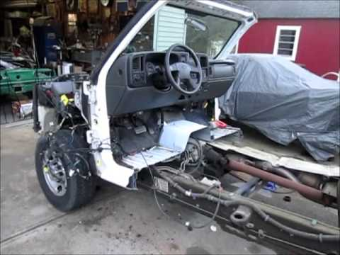1968 GMC conversion to 2500HD chassis part 1 ...