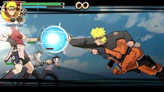 Naruto Shippuden Ultimate Ninja Impact Walkthrough Part 10 Naruto vs Sakura Clones (60 FPS)