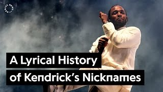 From K. Dot to Kung Fu Kenny: A Lyrical History of Kendrick Lamar's Nicknames | Genius News
