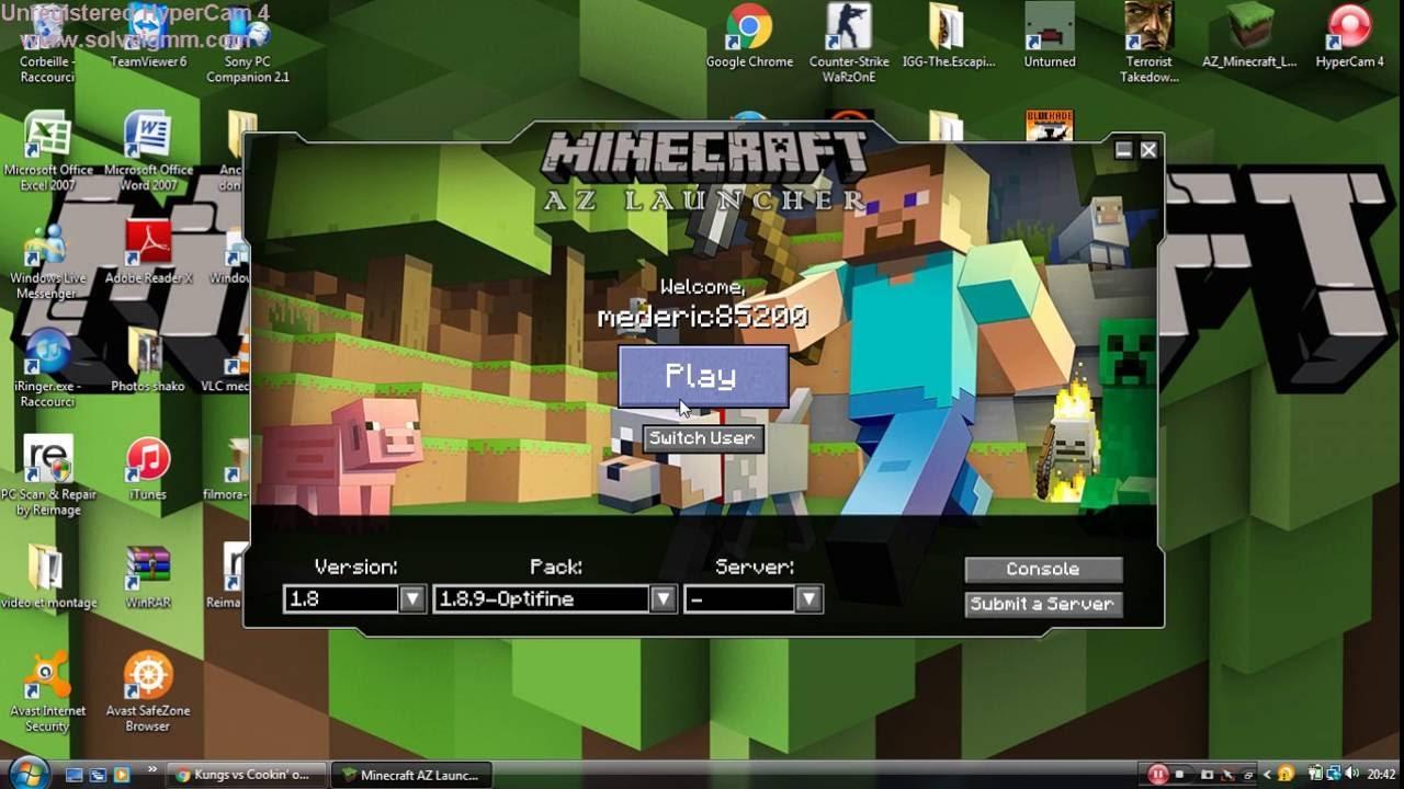 tuto#1 comment installer un pack de texture minecraft - YouTube