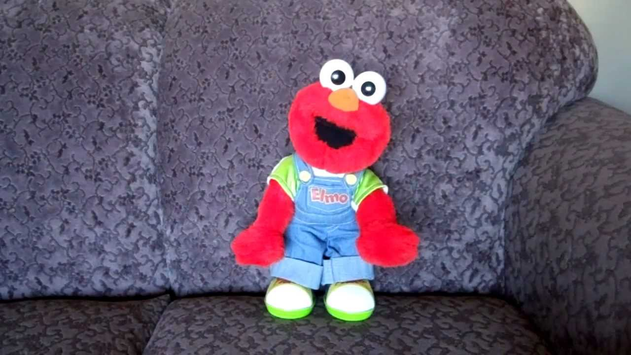 1999 MATTEL FISHER PRICE LETS PRETEND ELMO SESAME STREET MUPPET TOY - YouTube