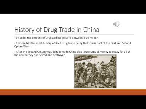 Chinese drug trade