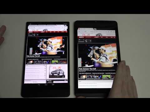 Dell Venue 8 7000 vs Nvidia SHIELD Tablet