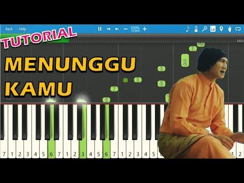 Anji - Menunggu Kamu (Piano Tutorial) ~ Ost. Jelita Sejuba