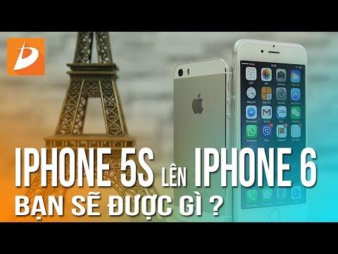 iPhone 5S lên iPhone 6 : Bạn sẽ được gì?
