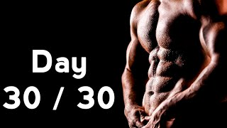 30 days six pack abs workout program day 30 30