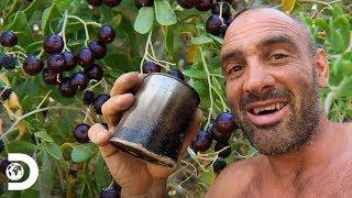 Ed disfruta del té en desierto de Mongolia | Ed Stafford al extremo | Discovery Latinoamérica
