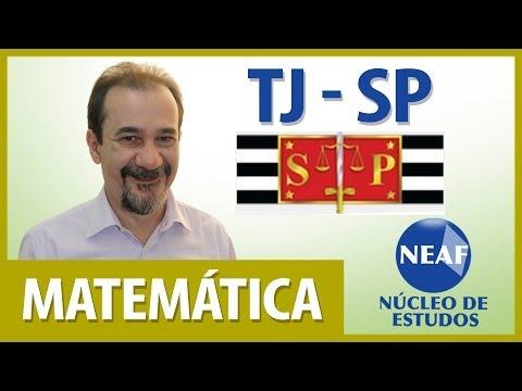 Matemática - Concurso TJ/SP - José Luiz de Morais
