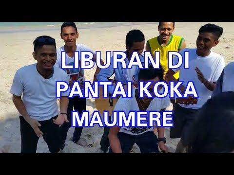 Liburan di Pantai Koka Maumere