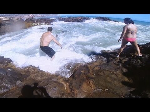 Heroic California Sea Rescue Caught on Tape