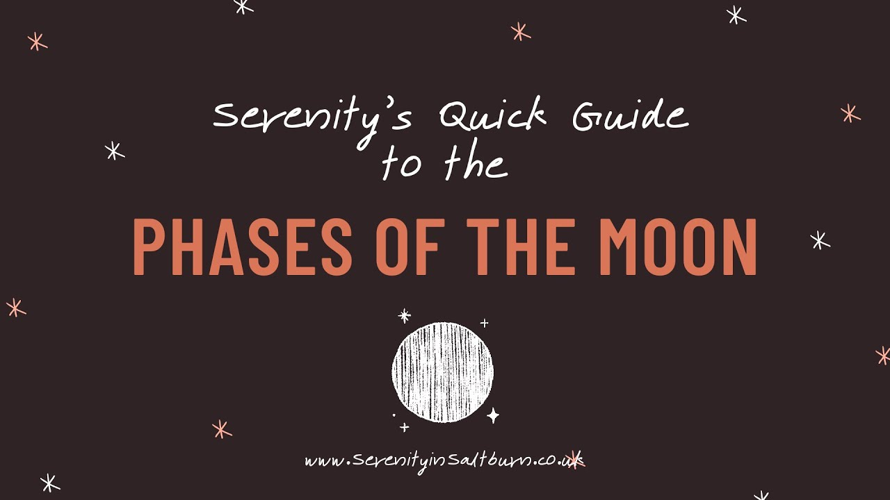 The Phases of the Moon! - A Quick Guide
