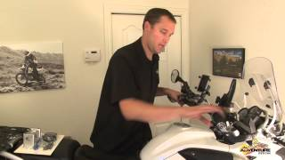 GPR Steering Stabilizer / Dampener for BMW R1200GS R1200GSA & F800GS by Adventure Designs