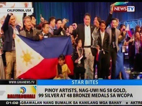 BT: Pinoy artists, nag-uwi ng 58 gold, 99 silver at 48 bronze medals sa WCOPA
