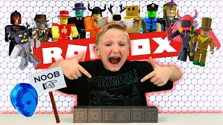 ROBLOX BLIND BOXES SERIES 1 (#4) from JAZWARES TOYS!! (REVIEW)