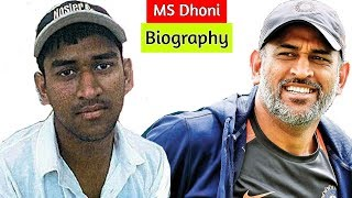 MS Dhoni Lifestory and Biography | Mahendra Singh Dhoni Untold Story
