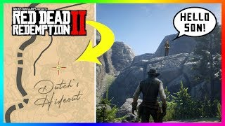 Finding Dutch's SECRET Hideout In Red Dead Redemption 2 By Exploring Outside Of The Map! (RDR2)