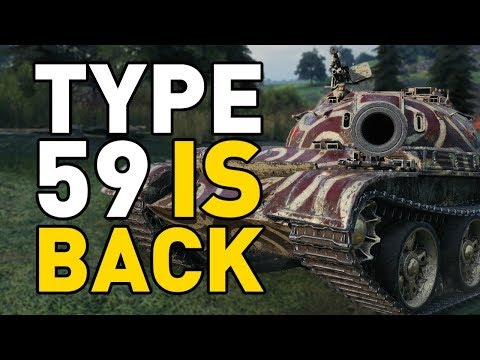 World of Tanks || TYPE 59 IS BACK! thumbnail