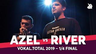 AZEL vs RIVER | Vokal Total Beatbox Battle 2019 | 1/4 Final