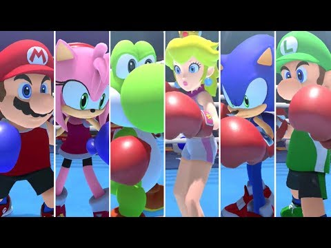 Mario & Sonic at the Olympic Games Tokyo 2020 - Boxing (All Characters)