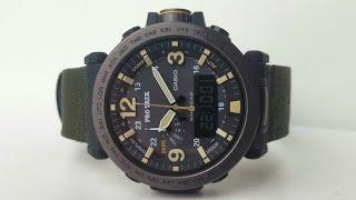 CASIO PRO TREK PRG-600YB-3E. Обзор\Review