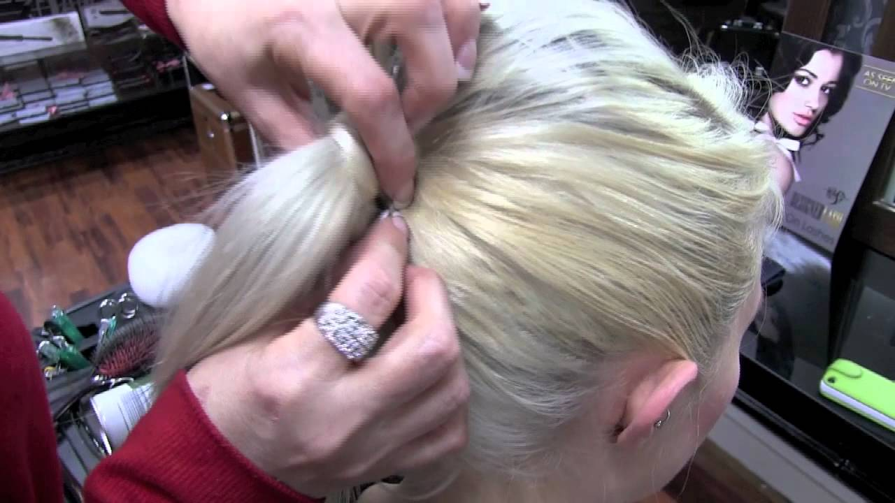 3 easy flight attendant hair styles for fine hair - youtube