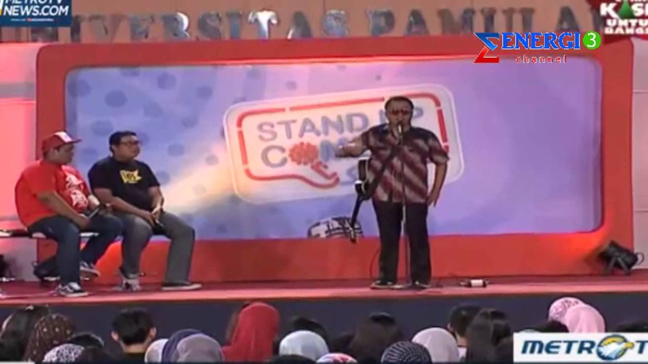 stand up comedy kampus unand