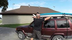 How to transport Stand Up Paddleboards on your car