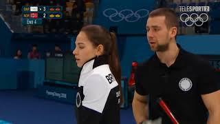 Anastasia Bryzgalova, Curling