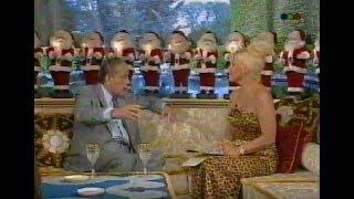 Dr.  Rene Favaloro con Susana Gimenez 1996
