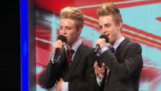 The X Factor 2009 -  John & Edward- Auditions 1 -  (itv.com/xfactor)