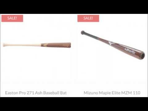Wood Bats for Sale   Baseball Bargains
