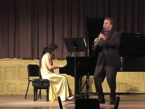Paquito D'Rivera Contradanza - Jonathan Cohler & Rasa Vitkauskaite