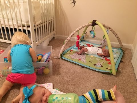 Night in the life of reborn toddler Prim and baby Carter and Zoe!