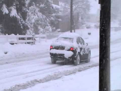 Audi Getting Owned By The Snow Car Sliding In Bountiful