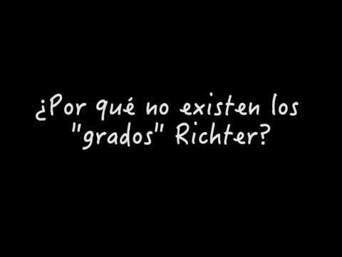 """¿Por qué no existen los """"grados"""" Richter?"""