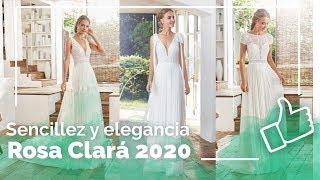 Vestidos de novia 2020 👰 Rosa Clará - Sencillos y elegantes