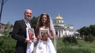 Видеосъемка свадьбы, венчание Белая Церковь, Сквыра